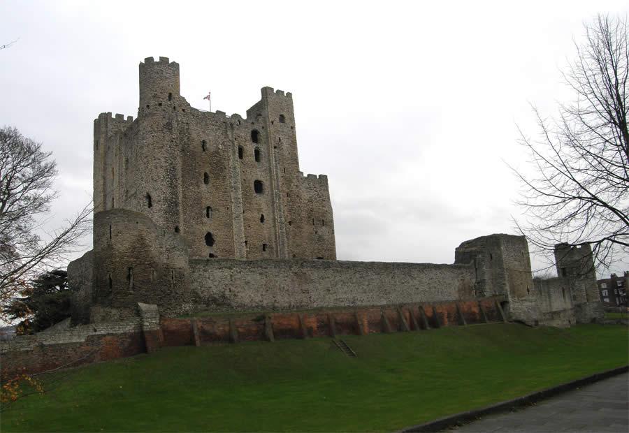 castle rochester south kent england castleuk map